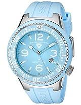 Swiss Legend Watches, Men's Neptune Light Blue Dial Light Blue Silicone, Model 21848P-012