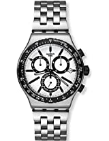 Swatch Irony YVS416G White Analogue Watch - For Men