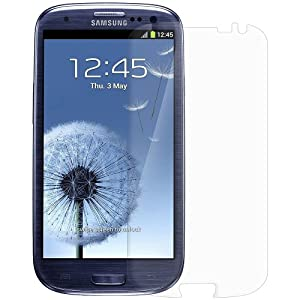 Amzer AMZ93960 Screen Protector with Cleaning Cloth for Samsung Galaxy S3 Neo and S III GT-I9300