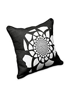 AphroChic Mandala Pillow (Black/White)