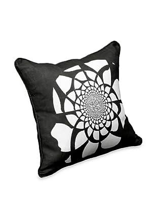 AphroChic Mandala Pillow (Black/White)