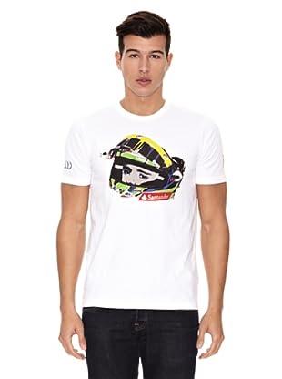 Ferrari Camiseta Massa (Blanco)