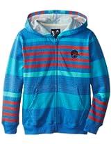 neff Big Boys' Wave Zip Hooded Sweatshirt
