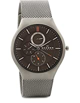 Skagen Aktiv Analog Watch - For Men - Silver - SKW6036