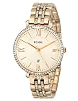 Fossil Jacqueline Analog Gold Dial Women'S Watch -ES3547