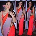 Kareena Kapoor Wear Peach Saree At Nach Baliye 6