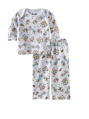 Margery Ellen Baby Pima Cotton Tee Set with Print (Circus)