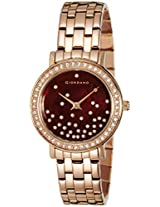 Giordano Analog Brown Dial Women's Watch - 2734-33