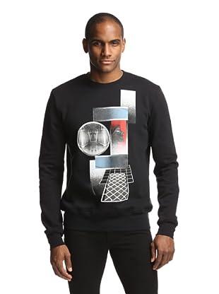 Dior Men's Abstract Sweatshirt (Black)