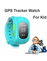 Wayona Kids Tracker Smart Wrist Watch with GPS & GSM System with functions ( Children Safe Security/ SOS Surveillance/Pedometer /Audio Remote Monitor / Remote Power Off/Alarms/Bluetooth Anti-lost for Children)