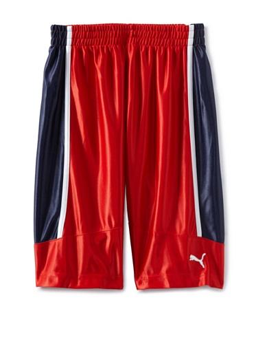 Puma Boys 8-20 USA Team Short (Red)