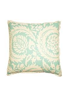 "Lacefield Designs Lisbon 20"" x 20"" Pillow, Turquoise"
