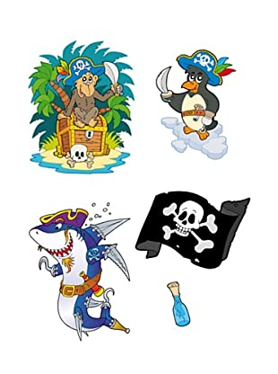 Beiwanda Kids Wandtattoo Piraten Abenteuer Set Add On