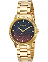 Aspen Analog Purple Dial Women's Watch - AP1949