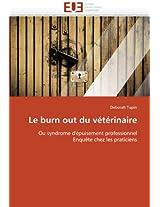 Le Burn Out Du Veterinaire