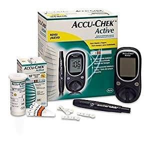 Accu Check blood glucose monitoring system