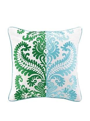 Jennifer Paganelli Barcelona Llana Pillow, Blue