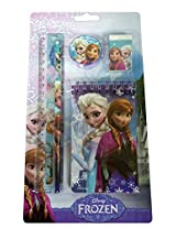 Frozen Stationery Set, Blue (7 Pieces)