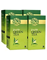 LaPlant Pure Green Tea - 100 Tea Bags (Pack of 4)