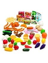 Battat Bucket Of Food 89 Piece Set