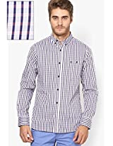 Blue Checks Casual Shirt French Connection