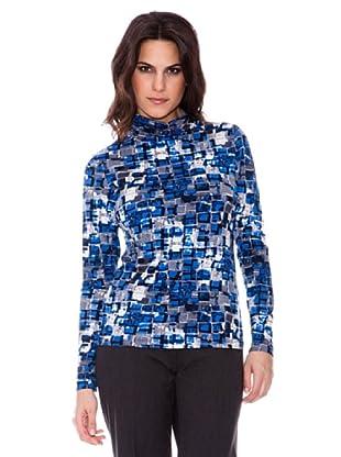 Steilmann Blusa Estampado (Azul)