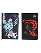 WWE Superstar The Rock & John Cena Combo of 2-Piece A6 Note Book / Diary, Soft Cover, Multi Color