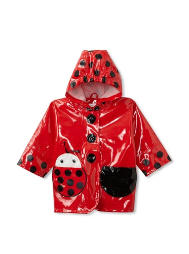 Kidorable Ladybug Raincoat (Red)
