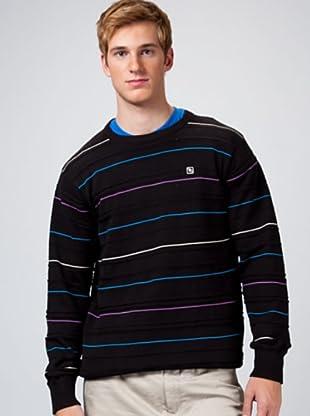Rip Curl Jersey Stripes (Negro)