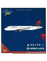 GeminiJets Delta A319 Aircraft