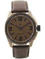 Fastrack Metalhead Analog Watch - For Men Brown - 3089KL01