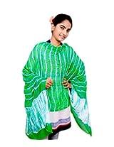 Rangsthali chiffon Lehriya Multicolor Womens dupatta stole