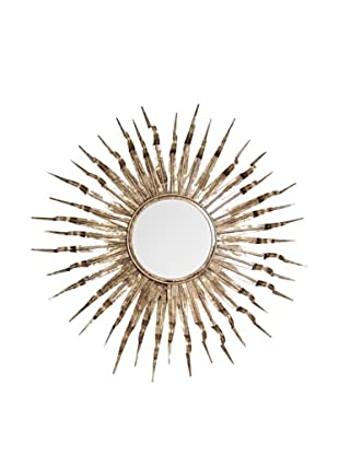 Prima Design Source Sunflower Mirror, Gold