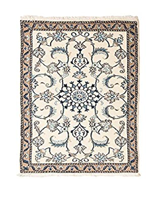 RugSense Alfombra Persian Nain Marfil/Azul 140 x 87 cm