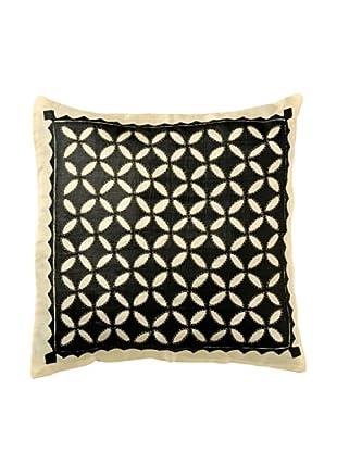 Mela Artisans Harmony Cushion Cover (Black/White)