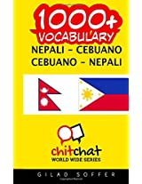 1000+ Nepali-cebuano Cebuano-nepali Vocabulary
