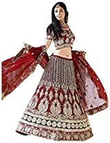 Heavy Work Bridal Lehenga Choli