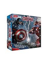 Funskool Captian America Vs Iron Man, Multi Color