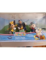 Mickey Mouse Clubhouse Figurine Playset With Traveling Minnie