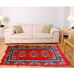 Fablooms Red Designer Carpet
