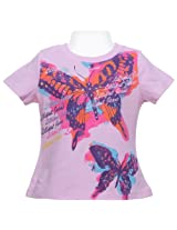 Short Sleeves Top - Butterfly