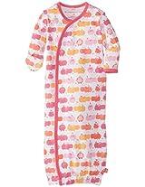 Magnificent Baby Baby-Girls Newborn Gown, Girl Hippo, Newborn