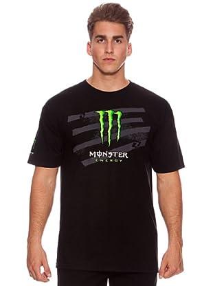 Monster Energy Camiseta Brooks (Negro)