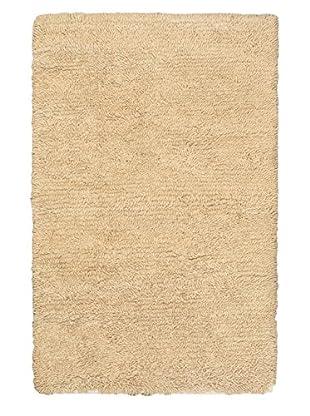Hand-Knotted Nouveau Shag, Khaki, 4' x 6'
