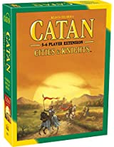 Mayfair Games Catan Cities and Knights 5-6 Player Extension 5th Edition, Multi Color