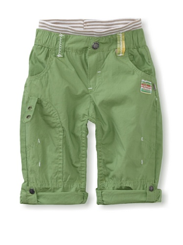 KANZ Baby Roll-Up Pants (Green)