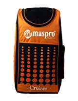 Maspro Cruiser Cricket Kit Bag Orange (Back Pack Model)