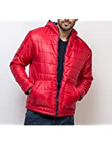 Yepme Men's Red Polyester Jacket - YPMJACKT0175_M