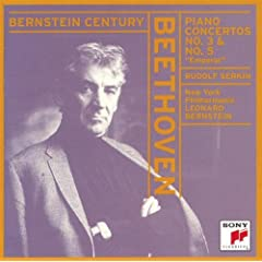 Bernstein Century - Beethoven: Piano Concertos no 3 and 5 / New York PO