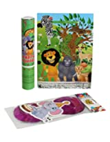 Birthday Party Accessory Kit Jungle Themed